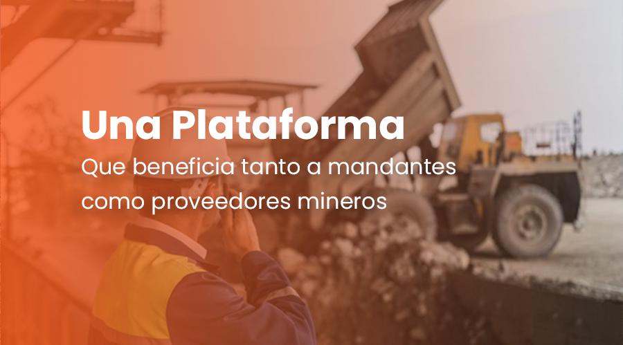 Sherpath, una plataforma que beneficia tanto a mandantes como proveedores mineros
